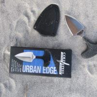 Urban Edge Dual Plain Edged w/ Neck Sheath