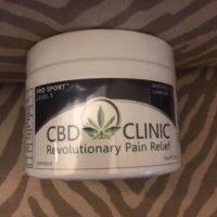 CBD Clinic™  CBD Ointment Pro Sport 5 (200g Jar )🇺🇸