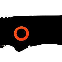 611043 3/8″ FRAME LOCK LIGHTWEIGHT FOLDER W/POCKET CLIP🇺🇸